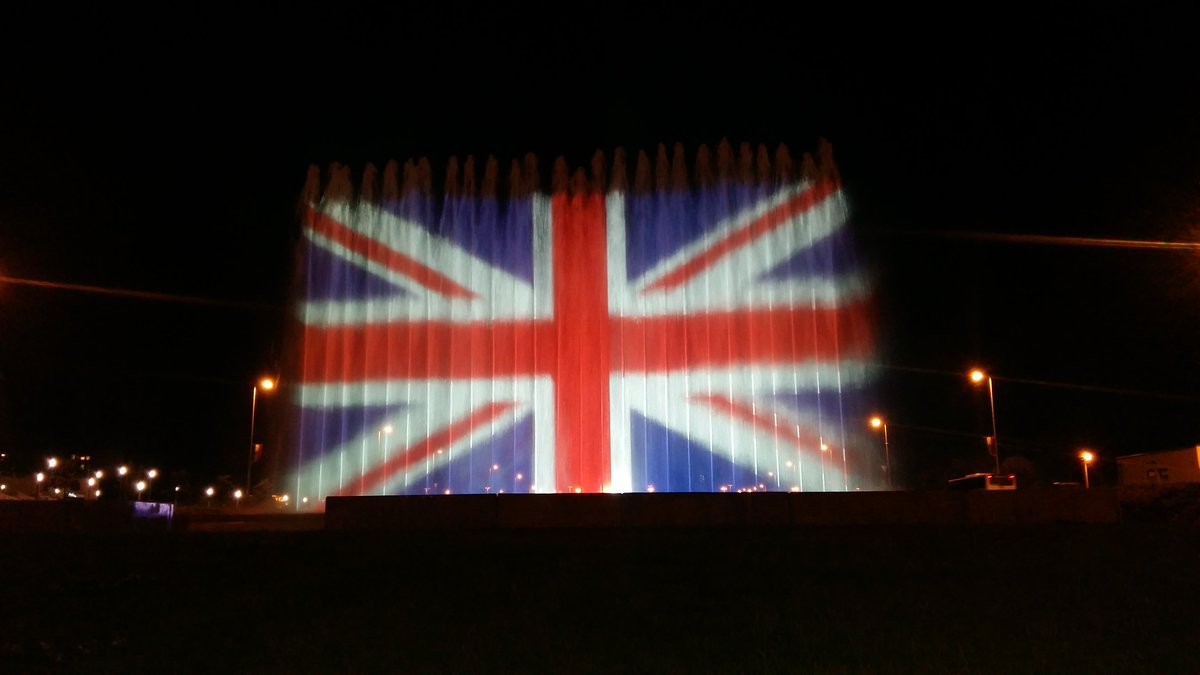 cities around the world pay union flag tributes to manchester uk