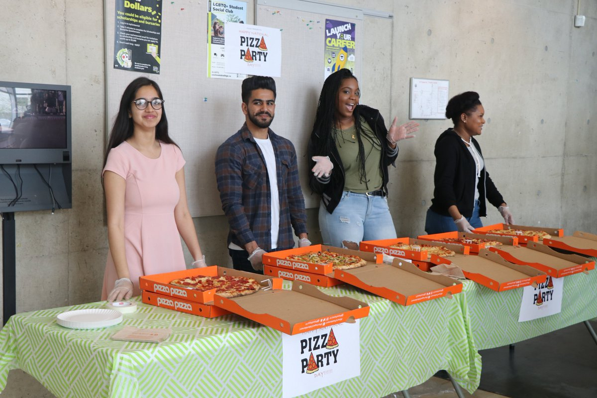 The CCSAI hosted #NationalPizzaPartyDay @CentennialEDU campuses on May 19th for students to enjoy. More photos @  https://www. facebook.com/ccsai/  &nbsp;   ^AC<br>http://pic.twitter.com/iwRqpIYxA2