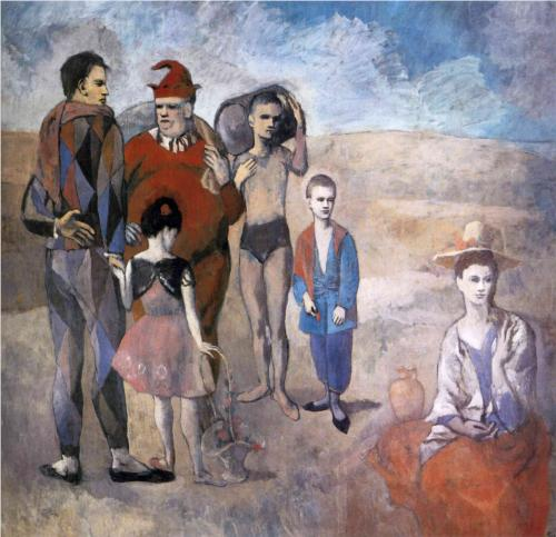 Pablo #PICASSO, &quot;FAMILY OF ACROBATS JUGGLERS&quot; 1905 #art #arttwit #iloveart #music #circus #dance #AlParadise #followart #artlover<br>http://pic.twitter.com/cNZnGfVNGb