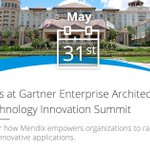 Sign up for a demo at booth #108 next week at #GartnerEA to learn about the power of low-code app development. https://t.co/ZOimlsr21f