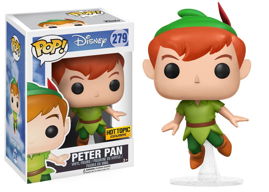 RT & follow @OriginalFunko for the chance to win a @HotTopic exclusive Peter Pan Pop!