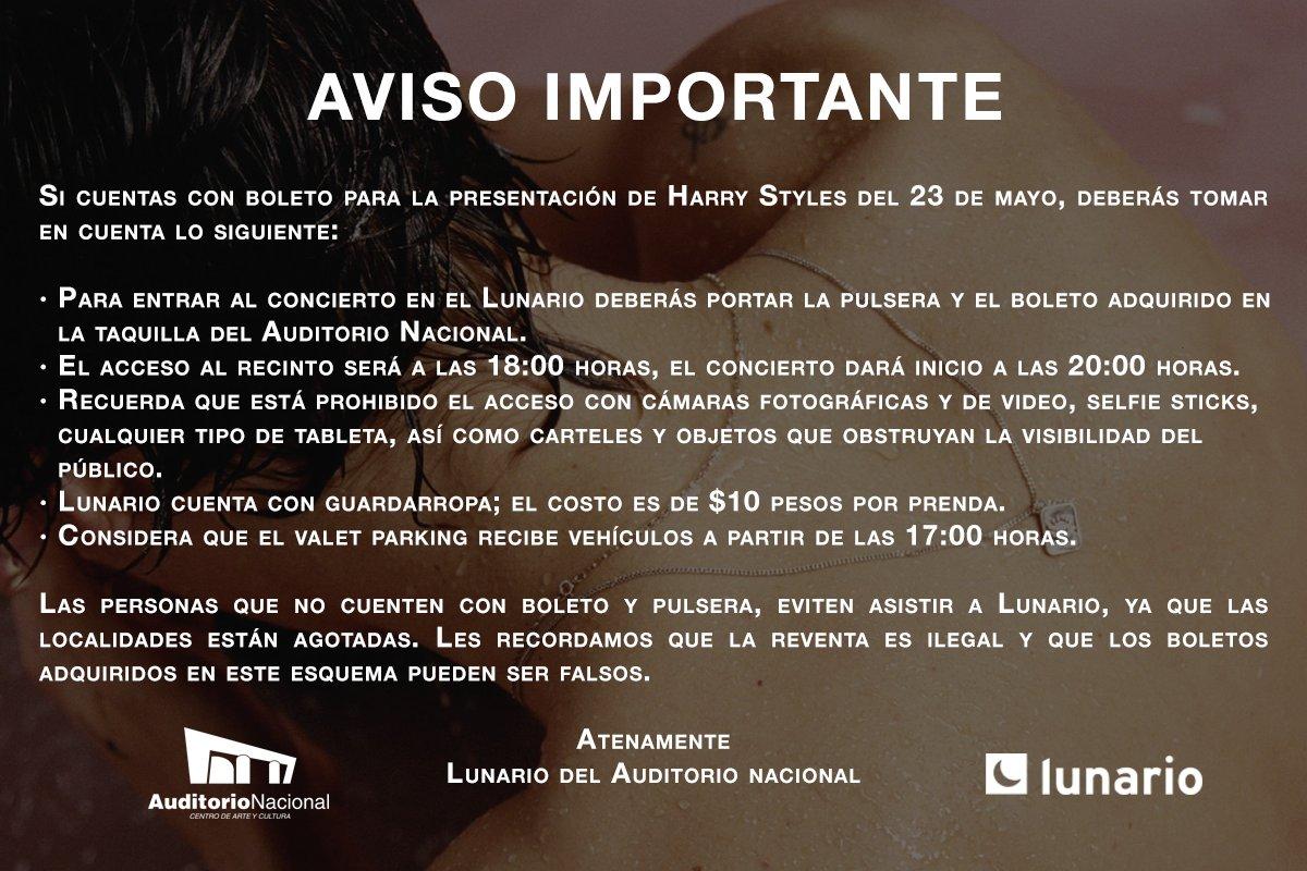 #HarryStylesEnMéxico