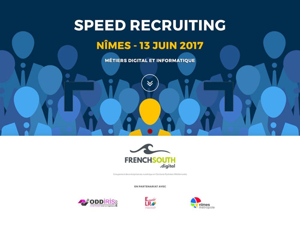 Choose your next numeric work ! #Nimes @SpeedRecruitin1 13 juin 17 #recrutement by @FrenchSouthD  http://www. emploilr.com/speed-recruiti ng-digital-informatique-nimes-2017/ &nbsp; … <br>http://pic.twitter.com/kIB7x0MyoC