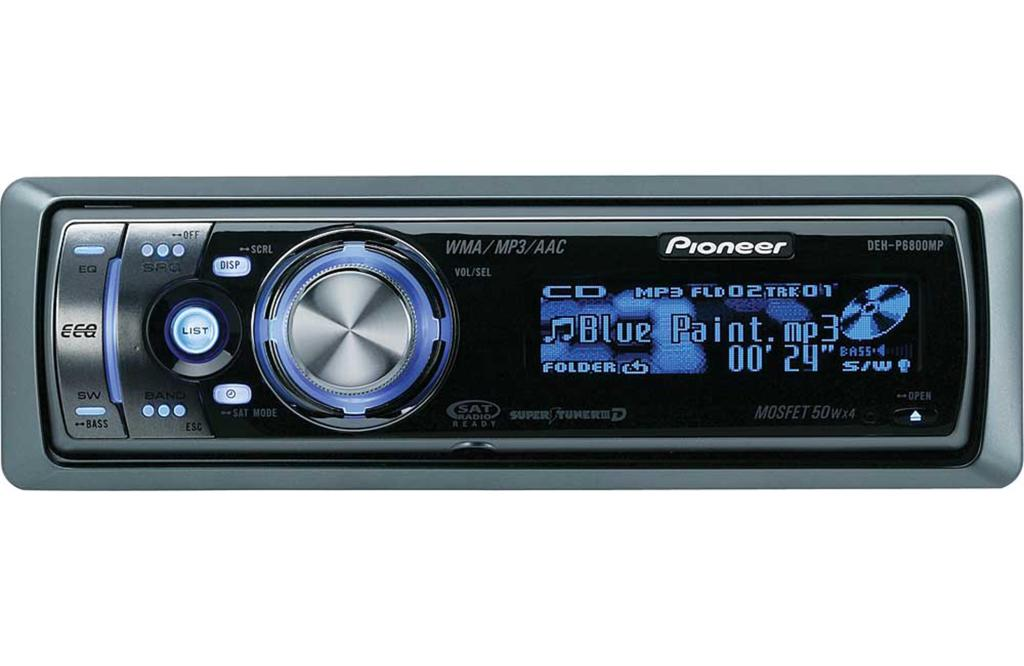 Pioneer deh p6800mp инструкция
