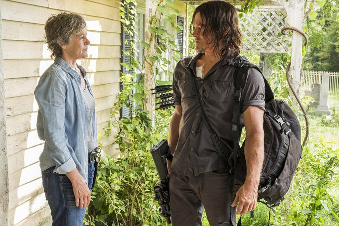 The Walking Dead\s Norman Reedus Wished Melissa McBride a Happy Birthday by Licking Her Face
