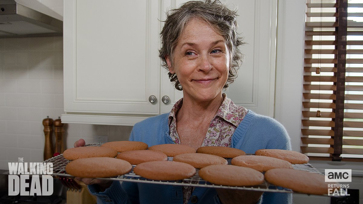 All the cookies for #TWD's @mcbridemelissa's birthday. <br>http://pic.twitter.com/30nhb280sx
