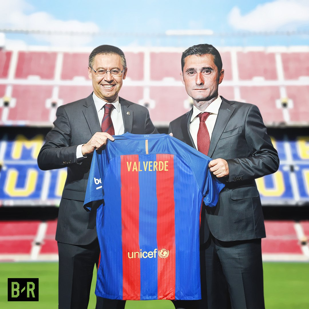 Athletic Bilbao confirm Ernesto Valverde will not manage the club next...