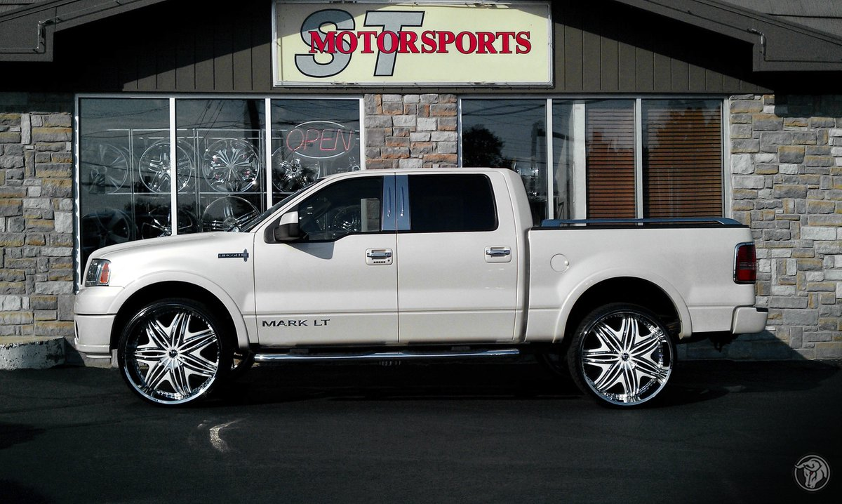 Diablo Wheels On Twitter Lincoln Mark Lt On Custom Color Matched