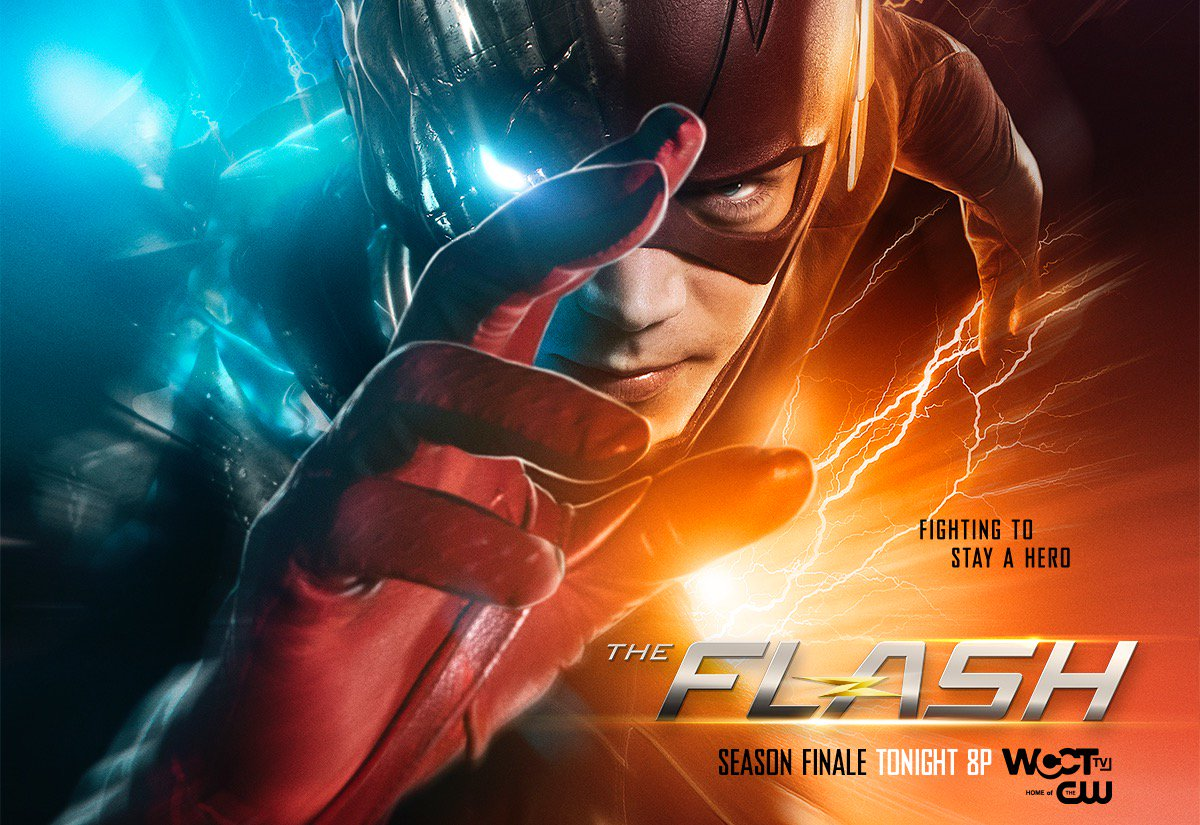 Catch the SEASON FINALE of @CW_TheFlash TONIGHT at 8P on @WCCTtv! https://t.co/0DkKRjkngS