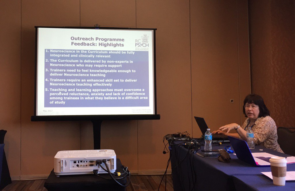 Similar to US experience &quot;brain&quot; is under-represented in current psychiatry curriculum @rcpsych #Reform #APAAM2017<br>http://pic.twitter.com/gvePAtw7RV