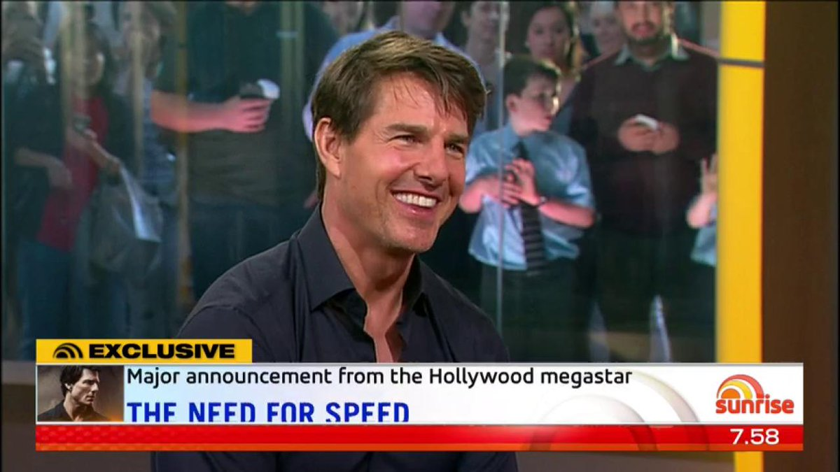 🚨 Tom Cruise confirms that he'll be shoo...