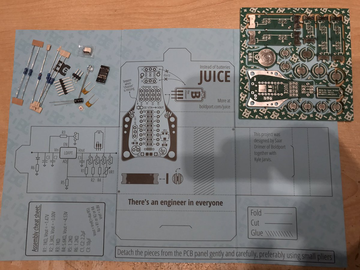 some pics from my #BoldportClub P12 Juice build. it lives! @boldport
