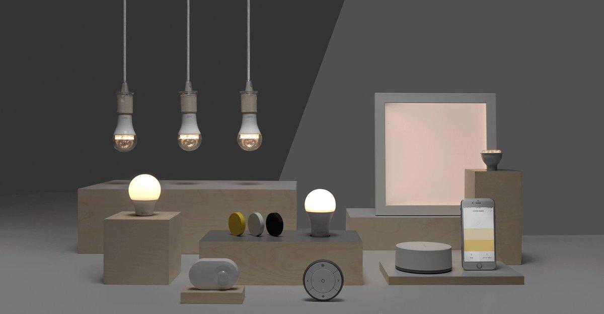 Ikea's cheap smart lighting will be Apple HomeKit, Google Home, and Amazon Alexa compatible https://t.co/iNGqHYfH5l