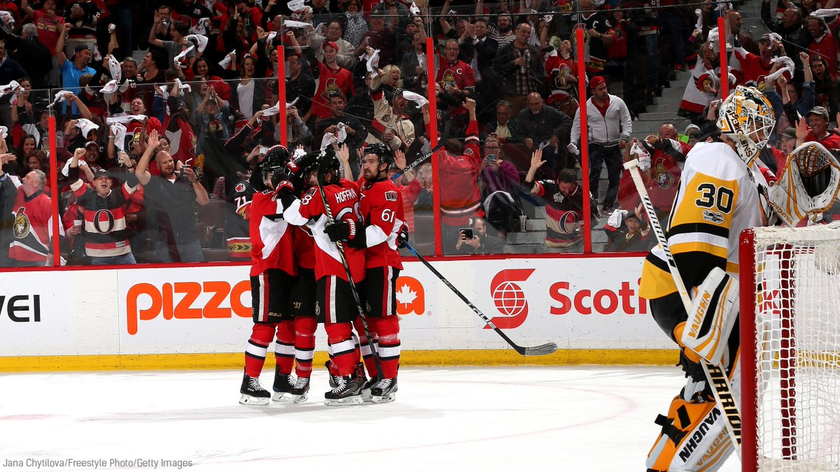 #SENS WIN 2-1 AND WE'RE GOING TO GAME 7! #ALLIN