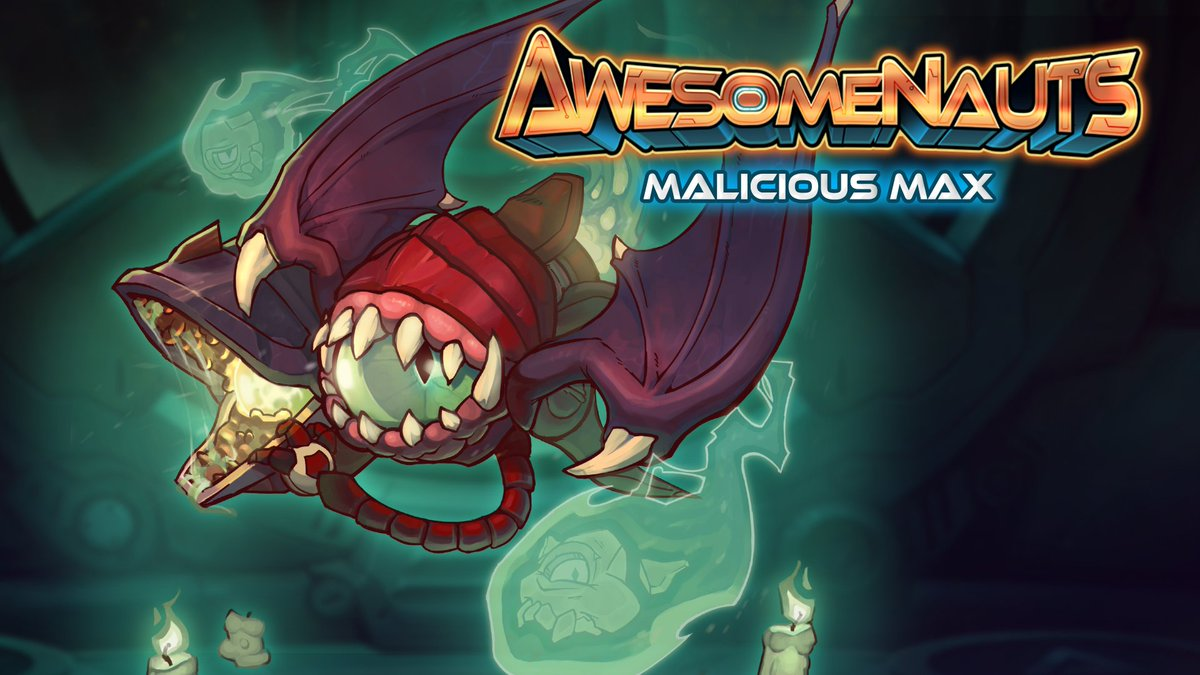 Awesomenauts is going free to play on Steam in 13 hours! RT to have a shot at winning a Malicious Max skin! https://t.co/prwqPKQE5W