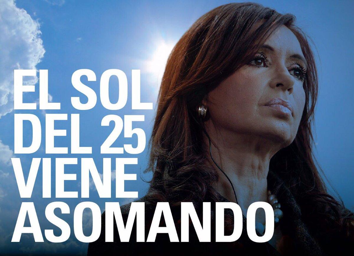 alegria! afiches que insinúan candidatura de Cristina