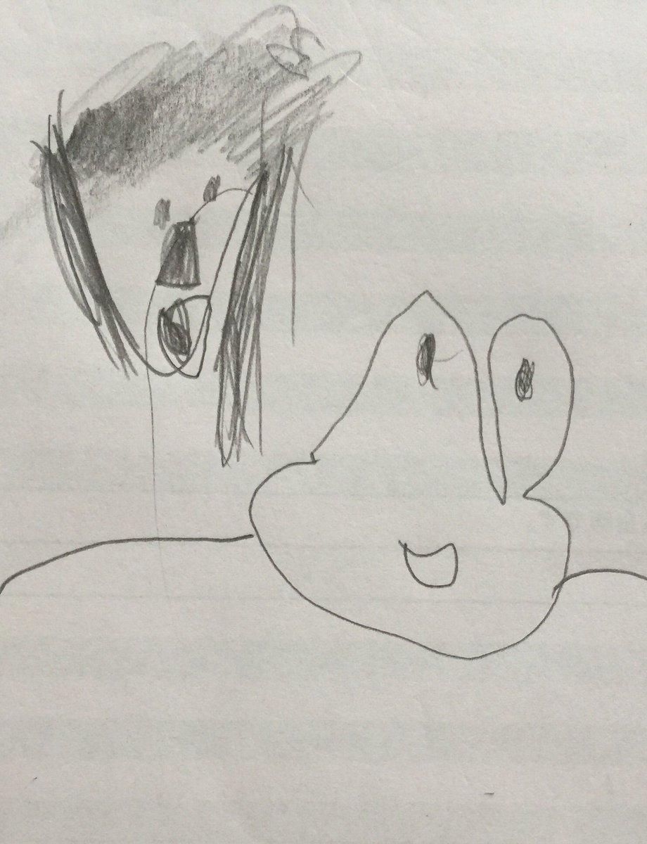 幼稚園の娘が「こういうお弁当にして!」と自ら図面を描いてきたので、注文通りのお弁当にした。めちゃくちゃ喜んだからよかったけど、先生に見られたら心に闇を抱えてる親だと思われる可能性もあるので心配。