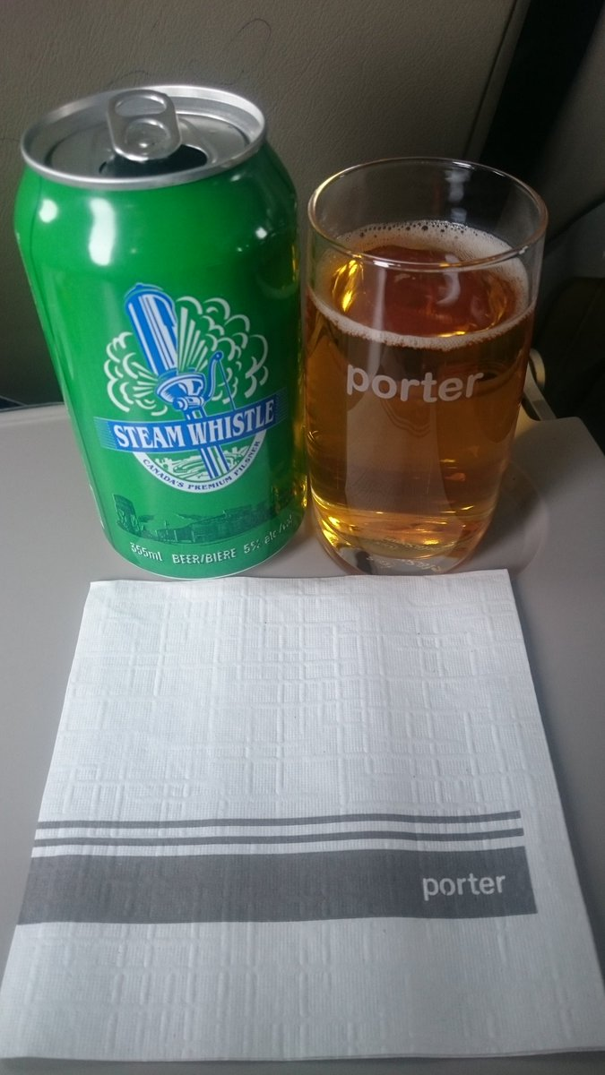 @porterairlines @SteamWhistle a nice rel...