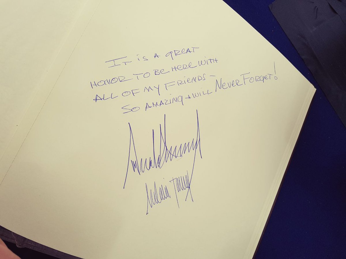 #Trump words at Yad Vashem. Maybe he thought he was at a party &quot;be here with all my friends,so amazing&quot;.This guy beats #Berlusconi,for sure! <br>http://pic.twitter.com/598Q98BK0D