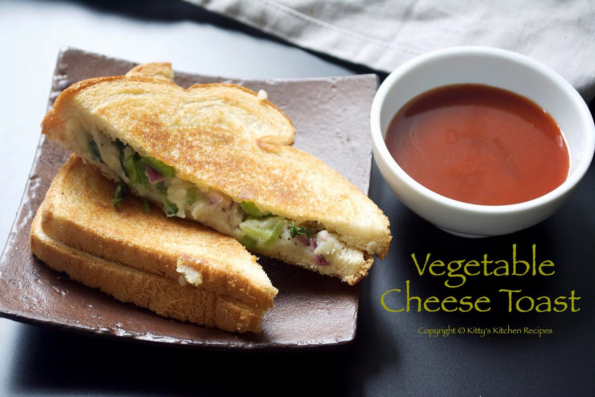 Vegetable Cheese Toast Recipe  http://www. kittyslifestyle.com/2017/05/vegeta ble-cheese-toast.html &nbsp; …  #recipe #cheesetoast #Food #blogger #blogpost #recipes #recipeblog #RecipeOfTheDay<br>http://pic.twitter.com/QyniDD5TRo