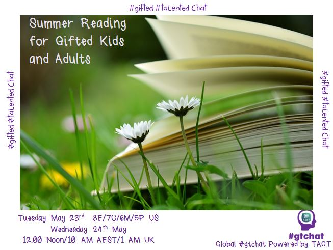 Thumbnail for #gtchat: Summer Reading for Gifted Kids and Adults