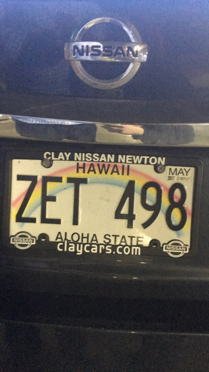 Clay Nissan Newton >> Sarah On Twitter Someone Pleaseexplain This Hawaii
