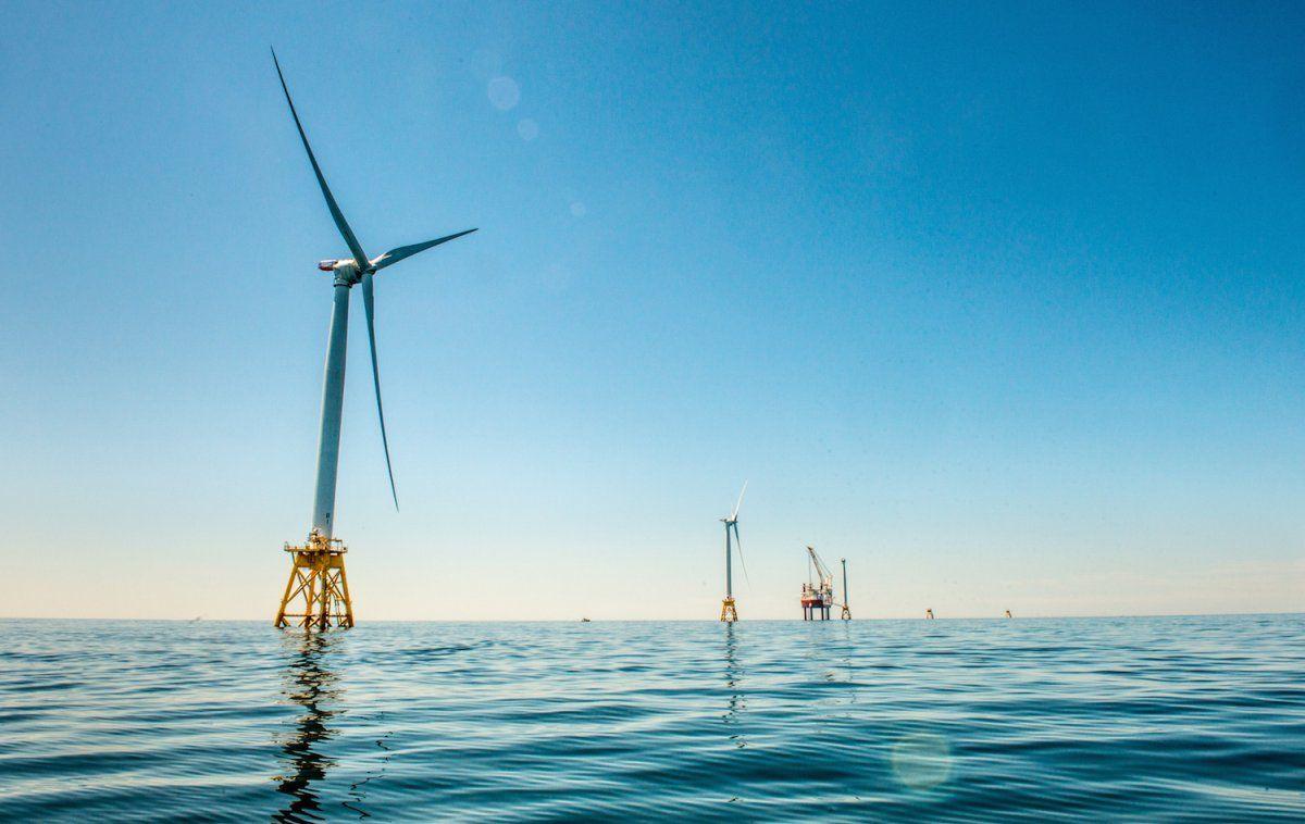 America's first offshore wind farm launc...