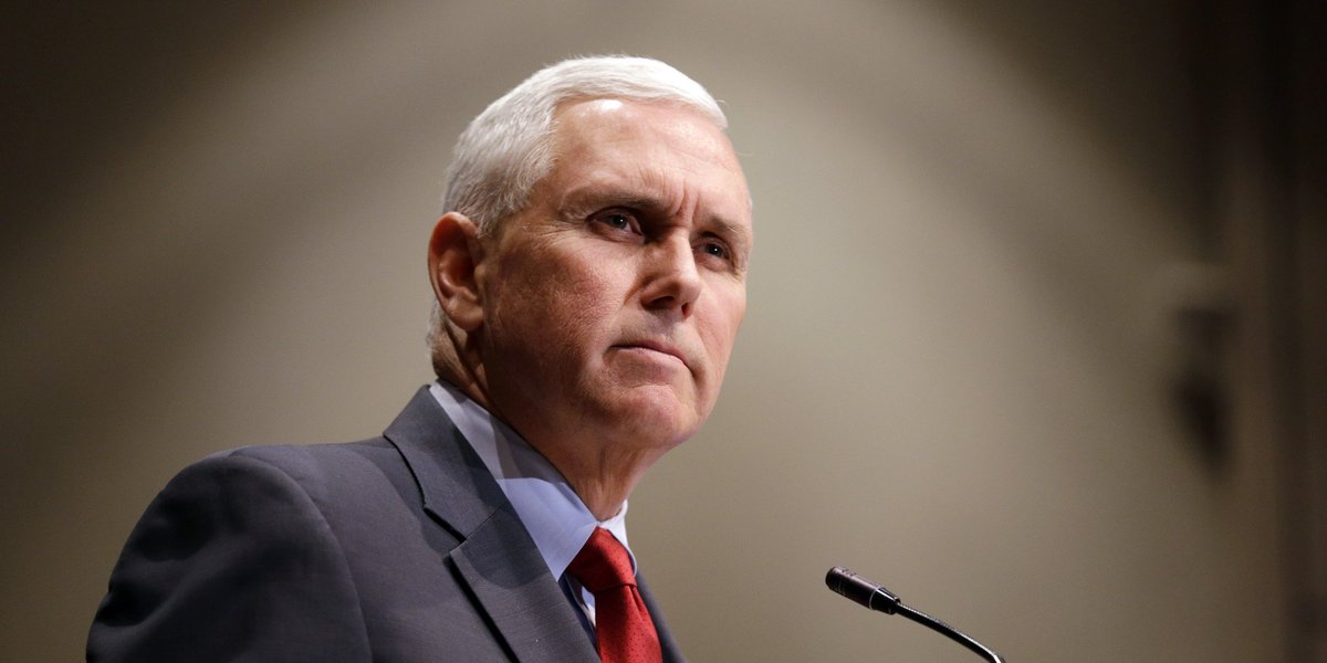 'I call this my Pence-ive look.' #DeepTh...