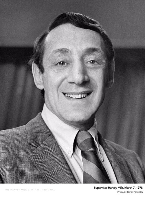 Thank you Harvey Milk, and happy belated birthday.