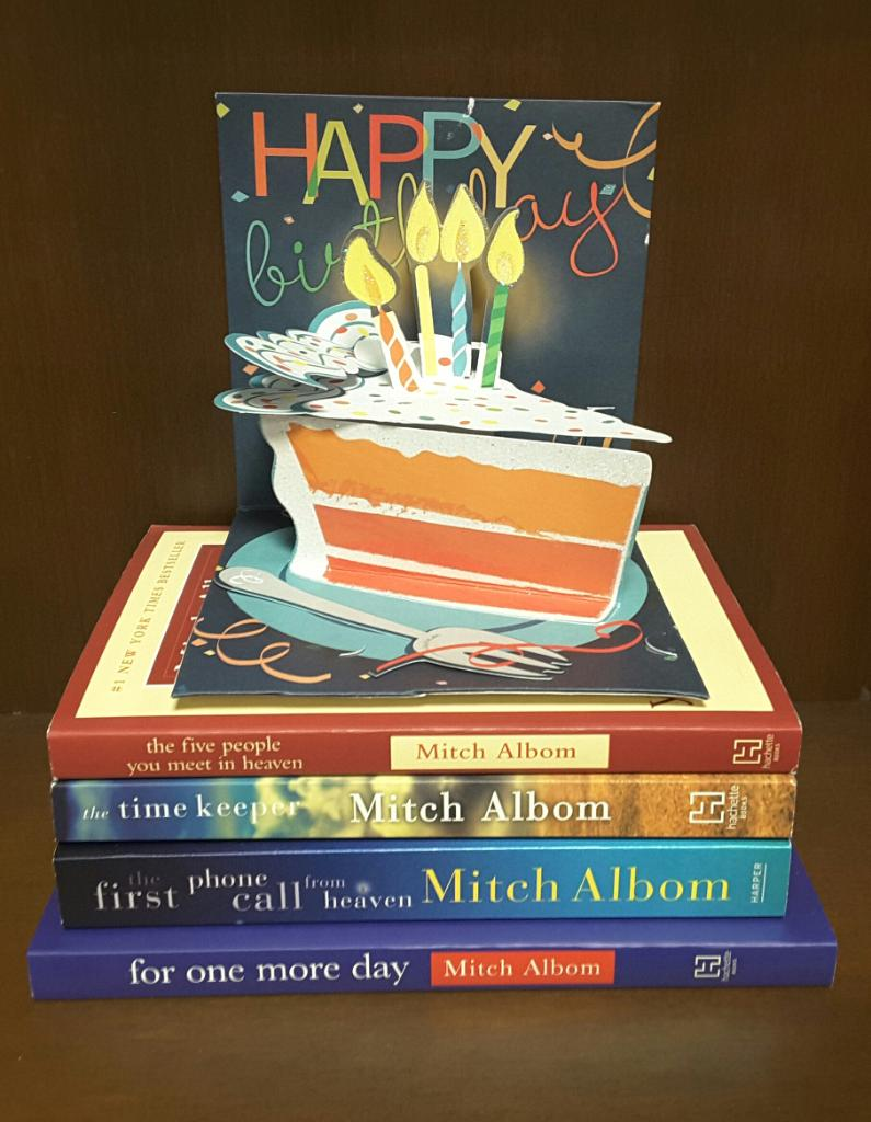 Happy Birthday Mitch Albom! May your day be as wonderful as your books!