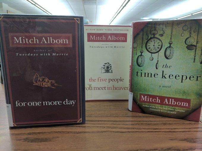 Happy Birthday to author Mitch Albom!
