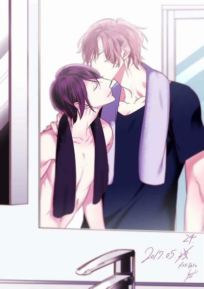 Apparently yesterday was kiss day in Japan 5/23   :: Kurui naku no wa boku no ban ::   https:// twitter.com/keri_ksb/statu s/867049097827504128 &nbsp; …  #BL #KISSDAY<br>http://pic.twitter.com/Jw6gE9QB4t