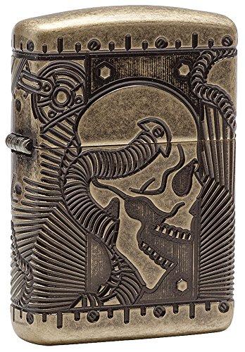 Zippo Steampunk Armor Antique Brass Pocket Lighter #steampunk https://t.co/nvkiVRL9Dn
