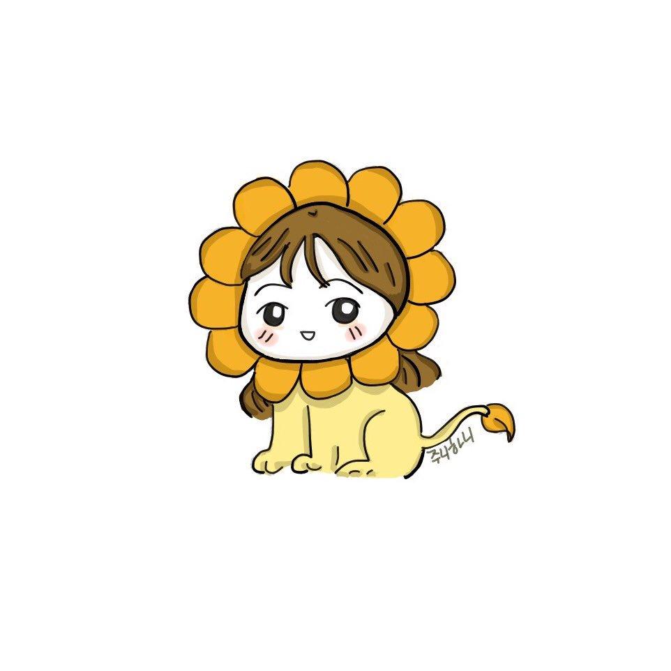 Hani the mini lion  #EXID #Hani #하니 #안희연 #fanart #팬아트 #이엑스아이디 @EXIDofficial<br>http://pic.twitter.com/s6qISMgxtl