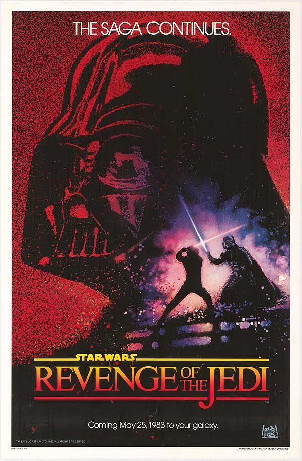 Original Star Wars: Revenge of the Jedi #MoviePoster  <br>http://pic.twitter.com/mcEHAgaz69