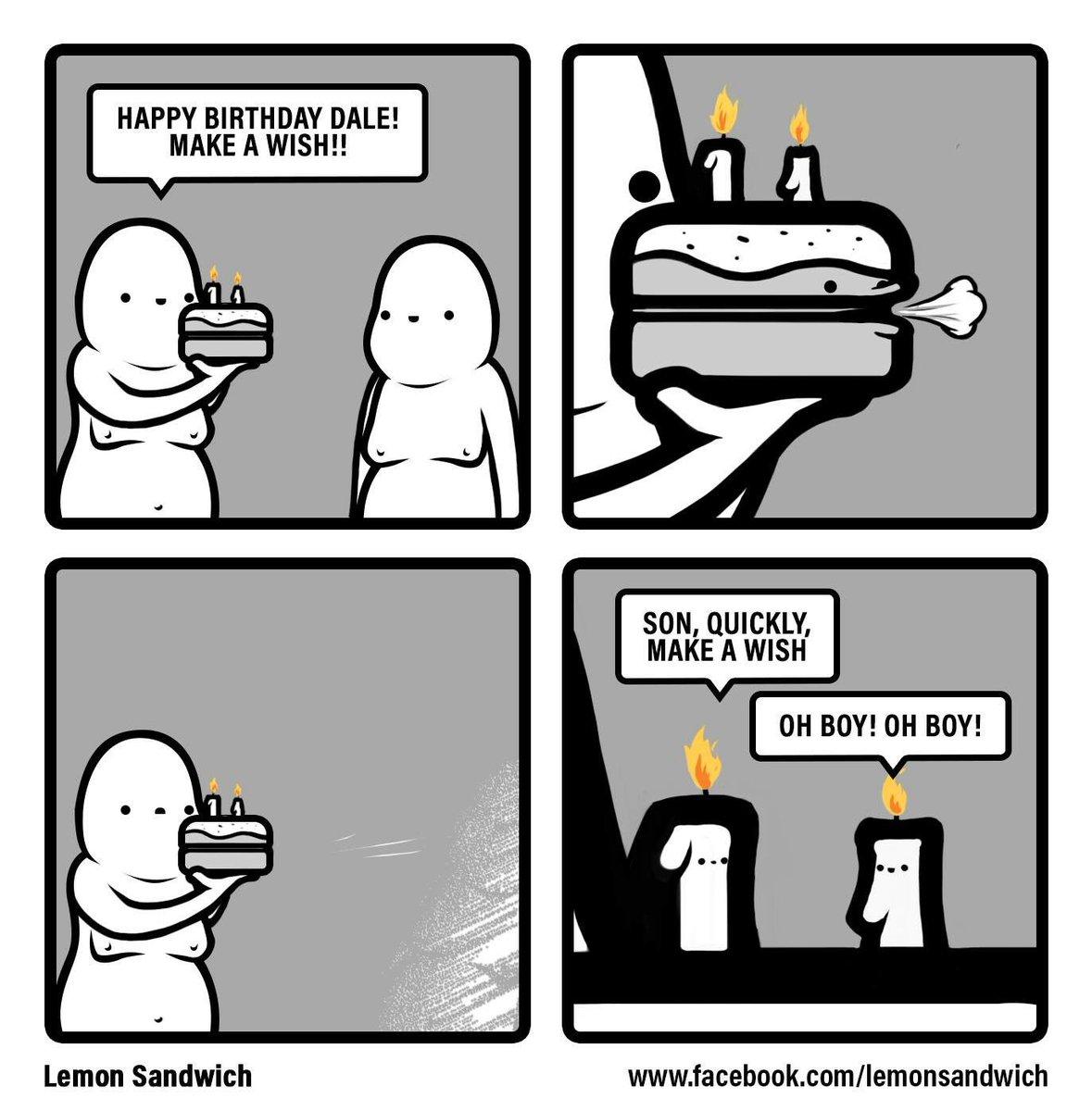 "Lemon Sandwich On Twitter: ""Happy Birthday #comic #comics #webcomic #webcomics #illustration"