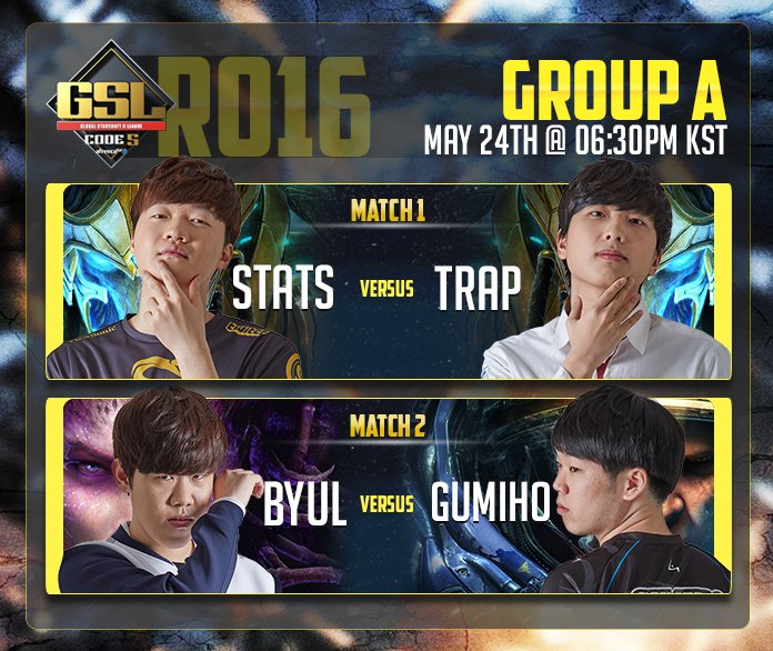 2017 GSL Code S 2. Szezon 2. csoportkör - A csoport