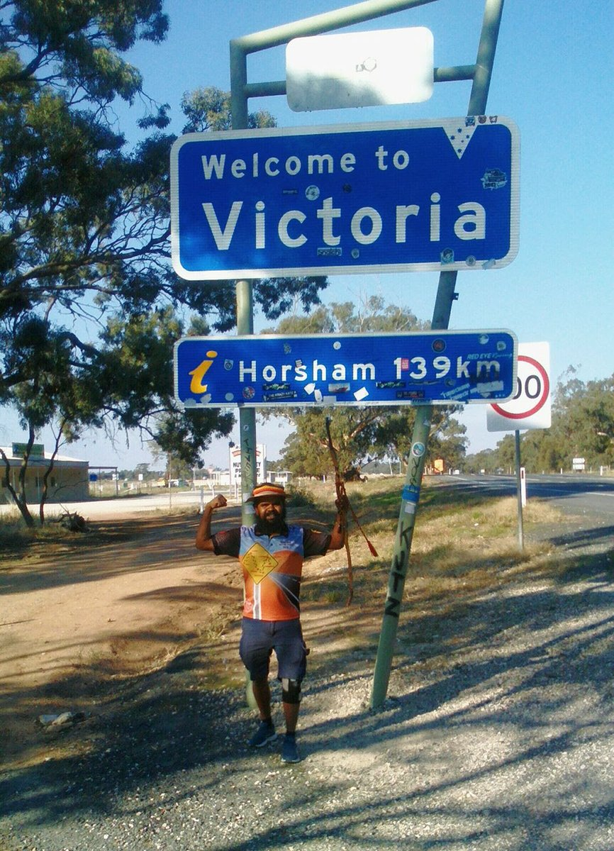 #ClintonsWalk Days 244 – 246 / May 13-15: Victoria!  https://www. clintonswalkforjustice.org/2017/05/15/day s-244-246-victoria/ &nbsp; …  #SA #Victoria #Bordertown<br>http://pic.twitter.com/CmbleMnv52
