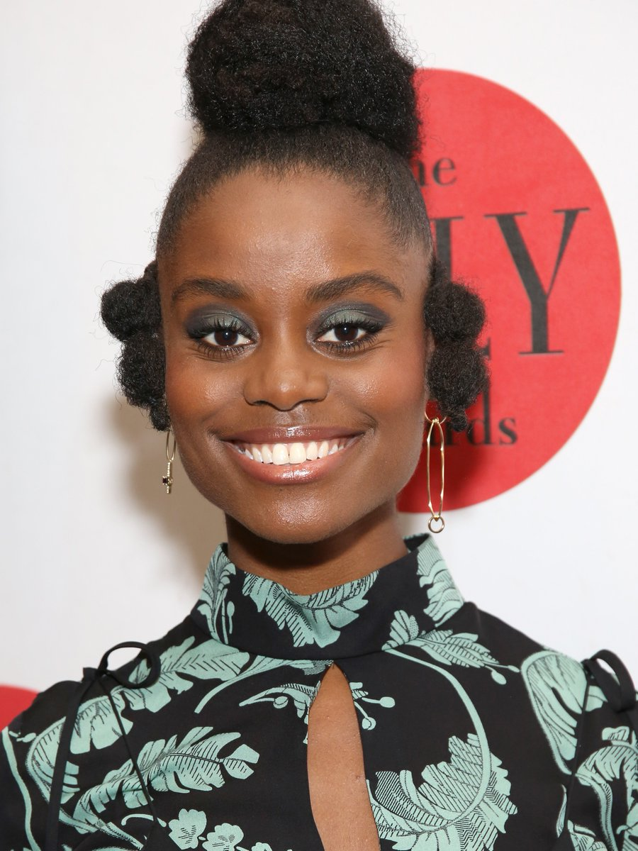 Denée Benton just took our breath away with her latest red carpet hairstyle. Check it from the side: https://t.co/ozLJFEjJ6W