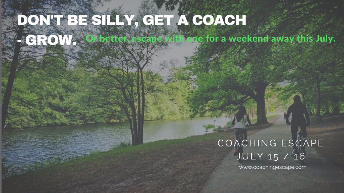Already excited about our July @coachingescape ! #tailored #coaching #away #selfgrowth #direction #fulfilment #clarity<br>http://pic.twitter.com/KWNJ48fO0G