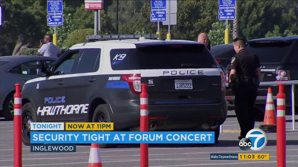 Security heightened at #ChrisBrown concert in LA, other events in wake of #manchesterterrorattack  http:// abc7.la/2rPLFIO  &nbsp;  <br>http://pic.twitter.com/KFmEi0tTFe