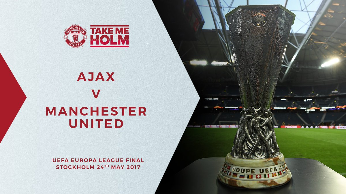Get ready for Ajax v #MUFC in the #UELfinal.