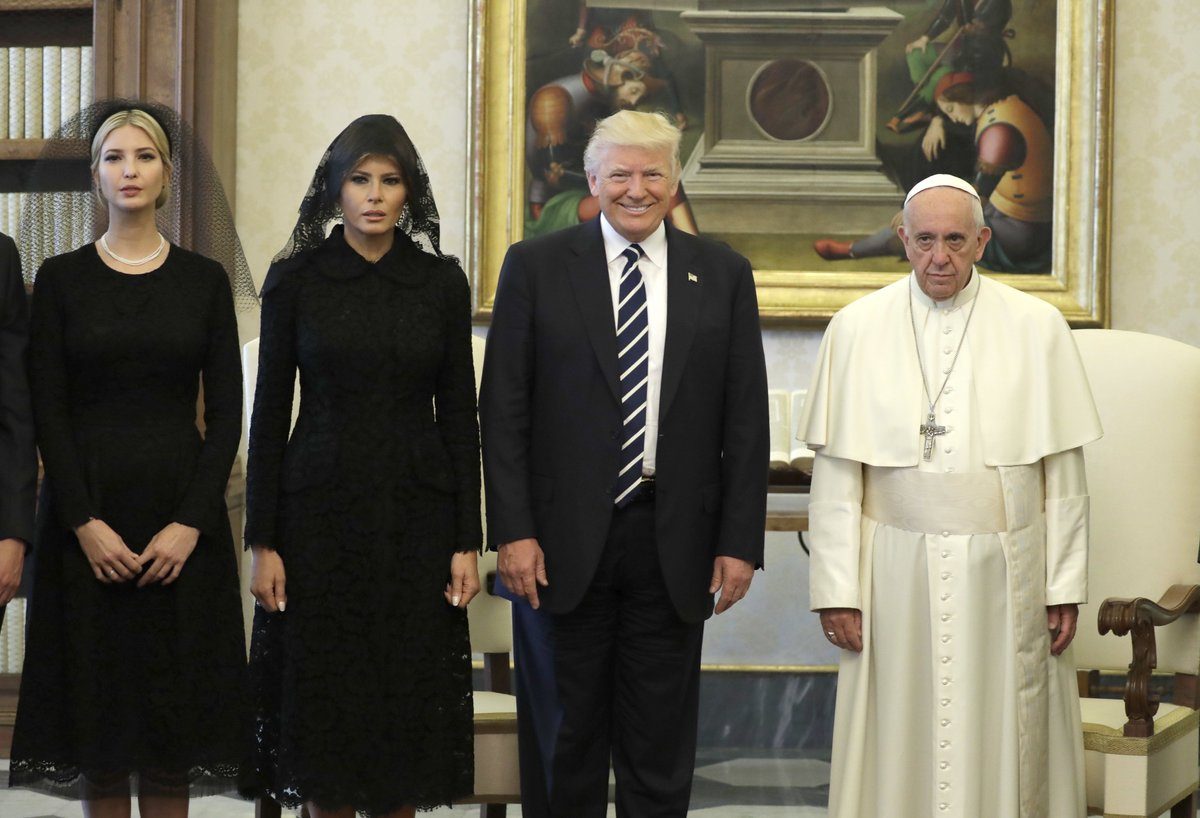 The Pope has met Donald Trump
