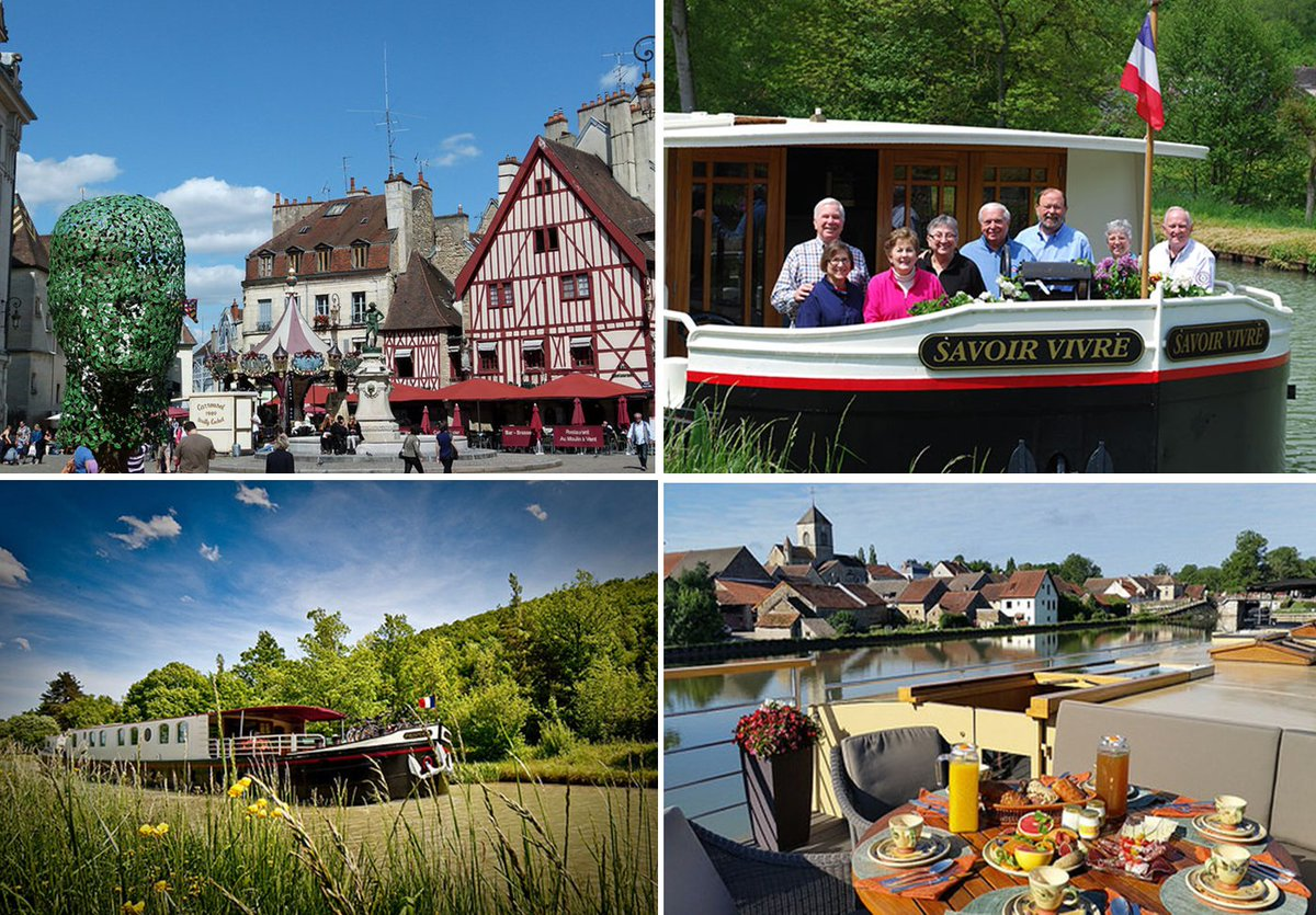 Exploring European&#39;s cities this summer like pretty #Dijon, aboard a fabulous cruise by @BargeLadyCruise!  http:// bit.ly/2qiPoNJ  &nbsp;  <br>http://pic.twitter.com/VXWWqmPol4