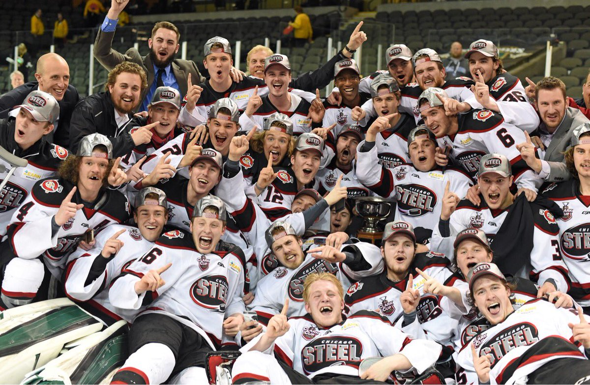 THE CHICAGO STEEL ARE TIER 1 NATIONAL CHAMPS! FIRST CLARK CUP IN TEAM HISTORY