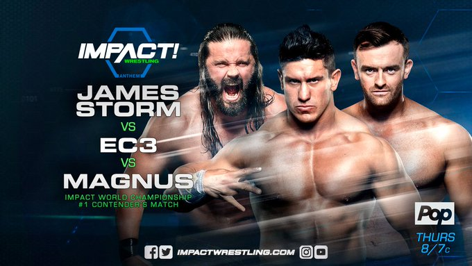 THURS 8/7c, see an ACTION-PACKED @IMPACTWRESTLING:  ONLY on @PopTV in the US (home of my #BBAD fam)  &   /  @fightnetin @GameTVCanadaCANADA!