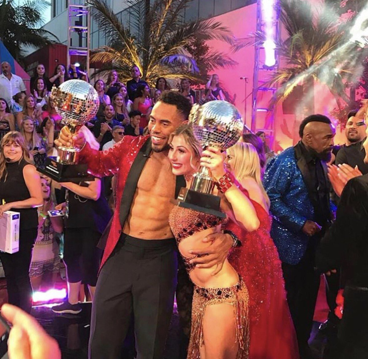 I would never have dreamed I'd be on @DancingABC much less win the Mirror Ball! @EmmaSlaterDance I'm SO your biggest fan! We did it!!! #DWTS
