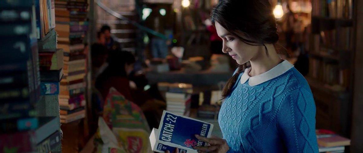 """Books in Movies on Twitter: """"Tara reads Catch-22 by Joseph Heller in  #Tamasha. @deepikapadukone #BooksInMovies… """""""