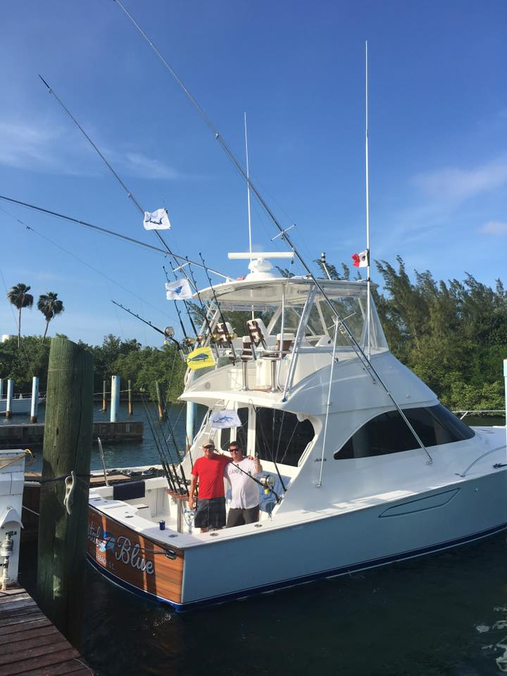 Isla Mujeres, MX - Crystal Blue released a Blue Marlin and 2 Sailfish.