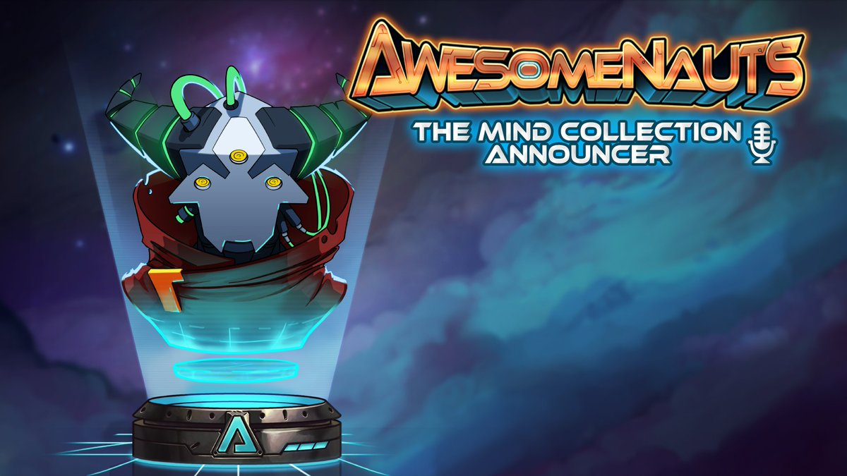 Awesomenauts is going free to play on Steam in 11 hours! RT to have a shot at winning The Mind Collection announcer! https://t.co/64Ys1HHSTh